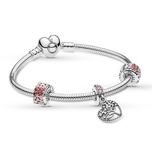 "PANDORA Tree of Love Bracelet Gift Set 7.5"""